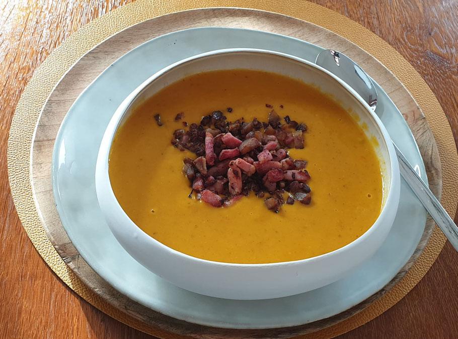 Bild: Rezept für Creme de Potiron a la Chataigne et Poire