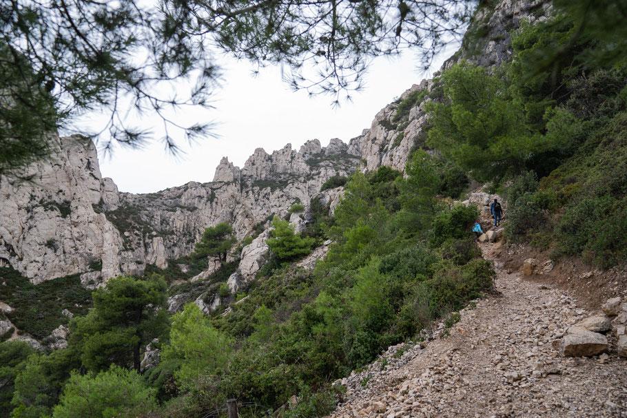 Bild: Wanderung Calanque Morgiou zur Calanque Sugiton über Col de Sugiton zurück zur Morgiou