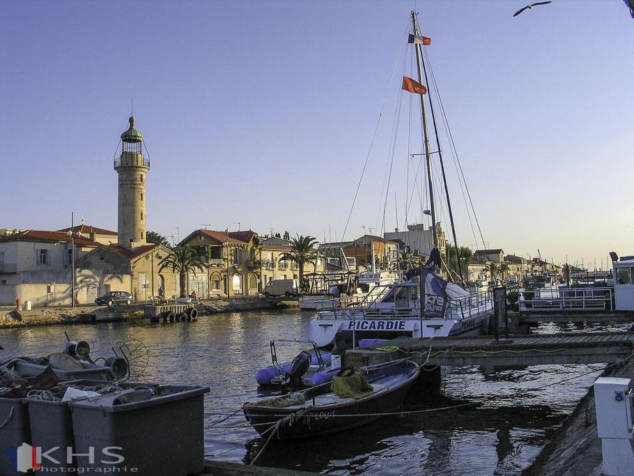 Bild: Kanal durch Le-Grau-du-Roi