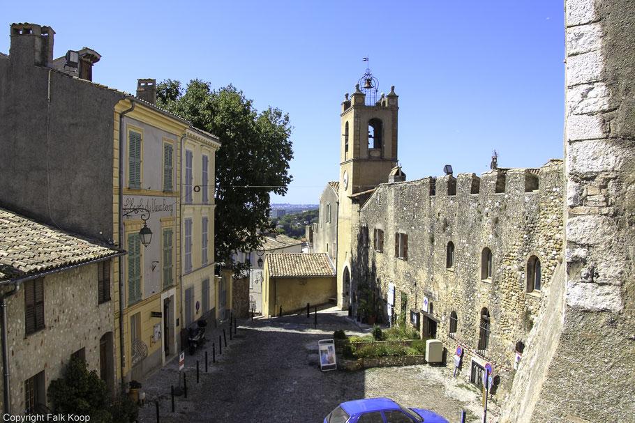 Bild: Église Saint-Pierre in Cagnes-sur-Mer