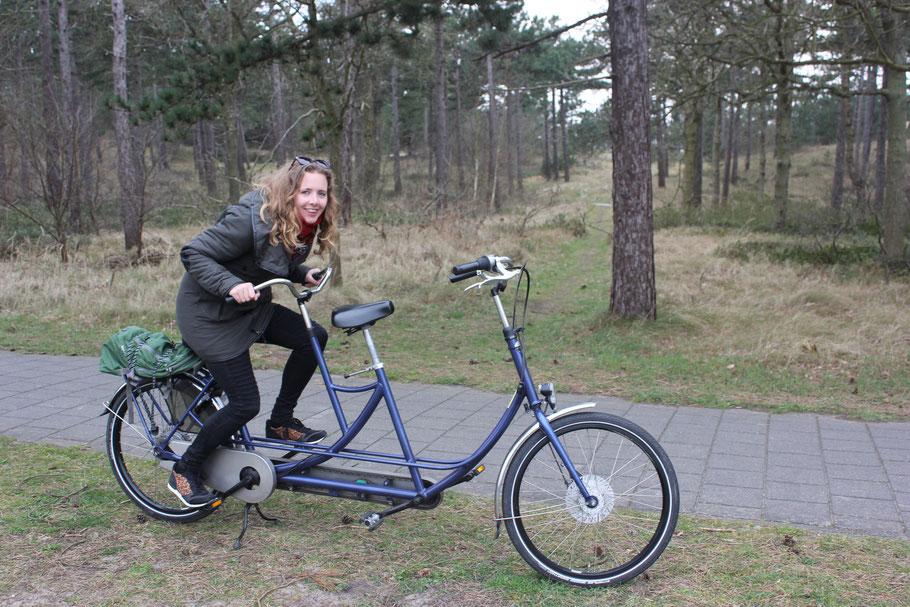 Tandem fietsen Texel