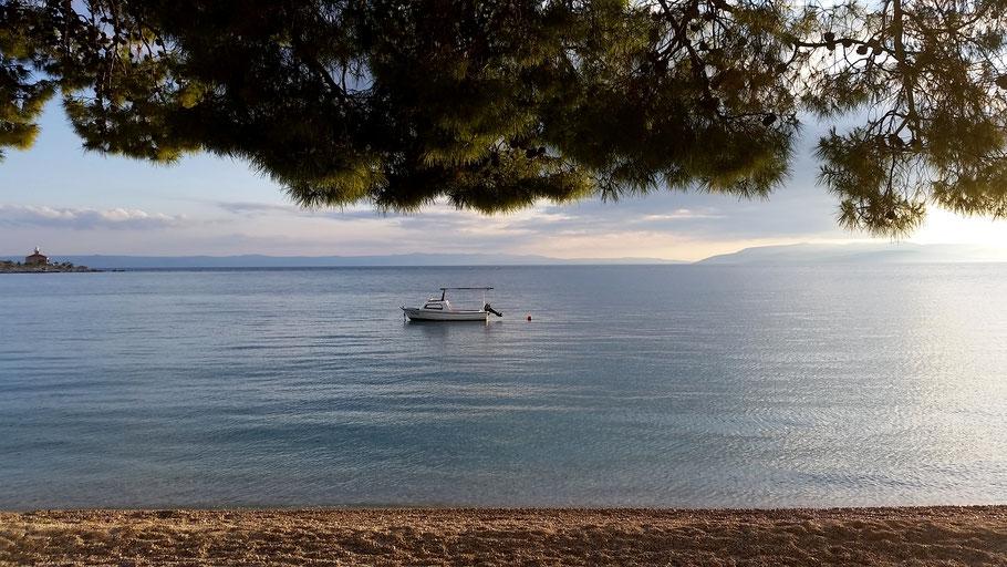 Zonsondergang Makarska