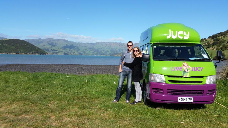 Jucy Rental Nieuw-Zeeland
