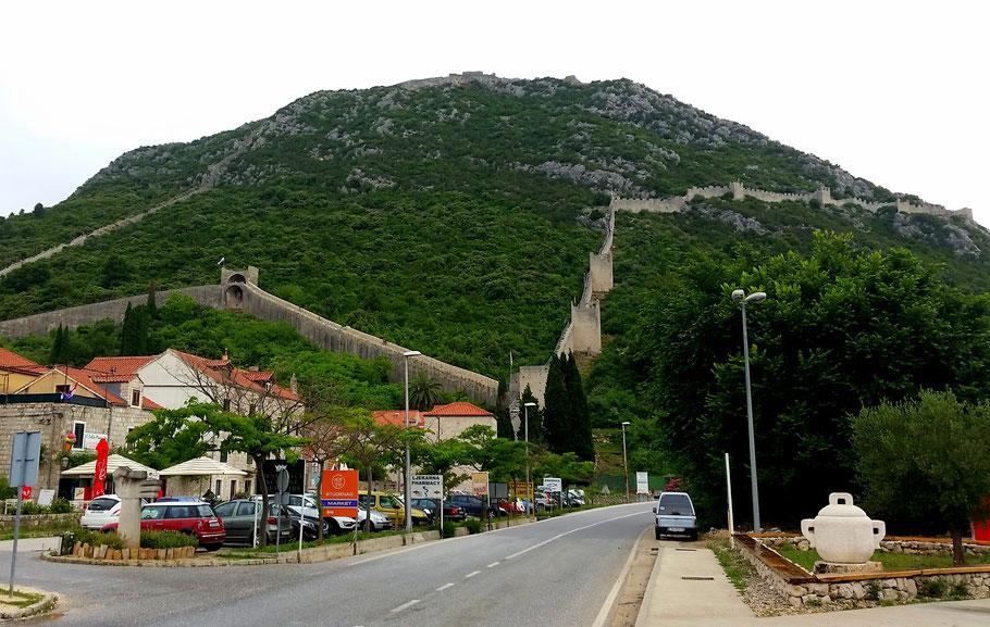 Chinese Europese Muur in Ston