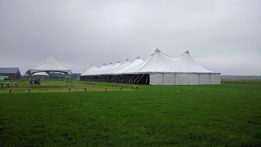 Feesttent, Festivaltent, Tent, Membraantent, M-Tent, Tent huren, luxe tent, tentenverhuur