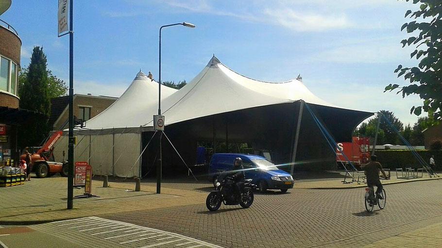 Feesttent, Festivaltent, Tent, Membraantent, M-Tent, Tent huren, luxe tent, tentenverhuur, open kop
