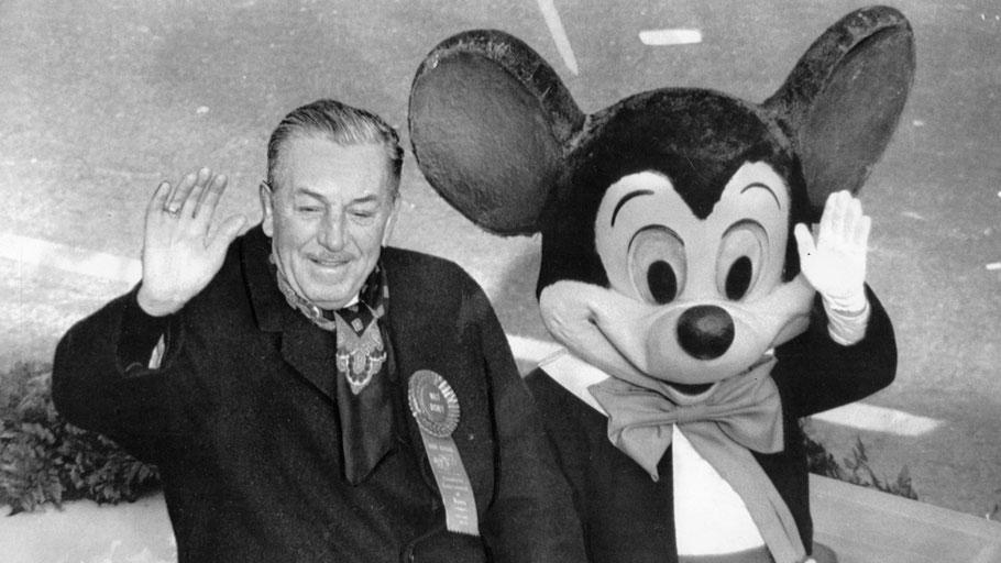 Walt Disney con Topolino