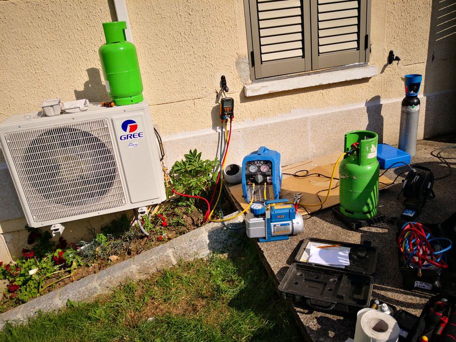 Entretien pompe a chaleur B-energie