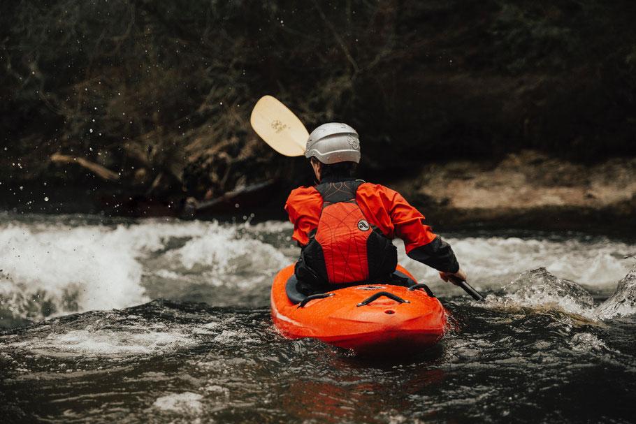 Abenteuer, Urlaub, Kitzbüheler Alpen, Vater und Sohn, Kanu fahren