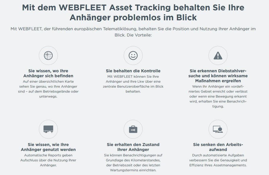 Webfleet Produkte über Topcom bestellen