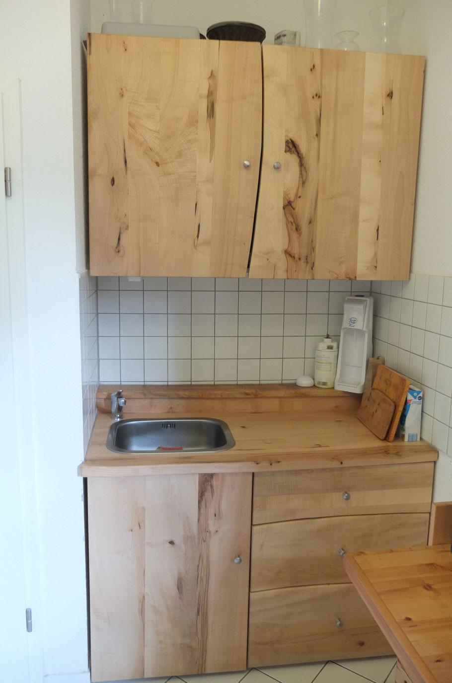 Kleine Küche Bergahorn