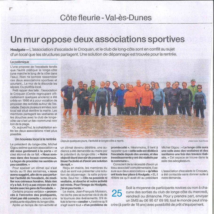 Ouest France - 3 août 2017