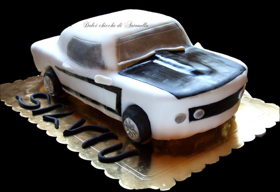 mustang-car-torte-dolci-la spezia-liguria