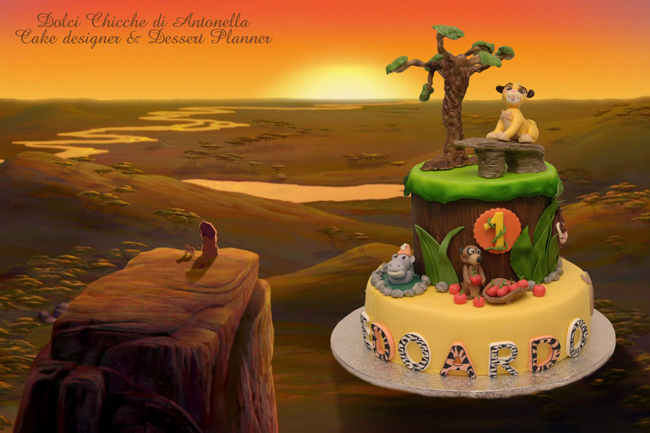 torta simba-la spezia-liguria-dolci-compleanno-feste-bimbi