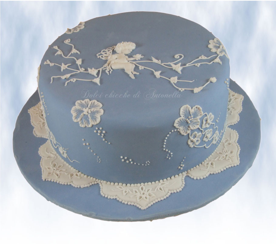 torta ghiaccia-angeli-torta elegante-dolci-la spezia-liguria