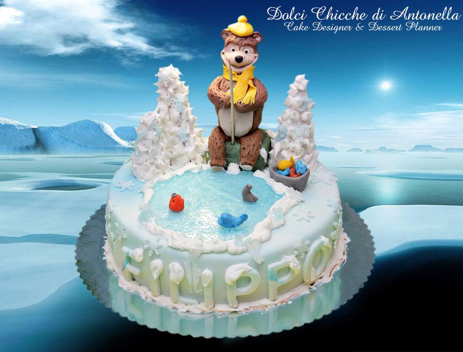 masha-orso-torta-dolci-compleanno-la spezia-cake design-torte decorate-liguria