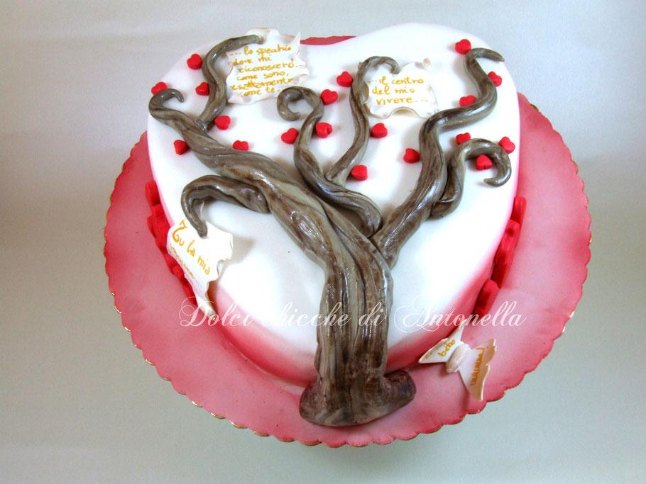 heart-torta cuore-festa mamma-la spezia-liguria-torte-dolci