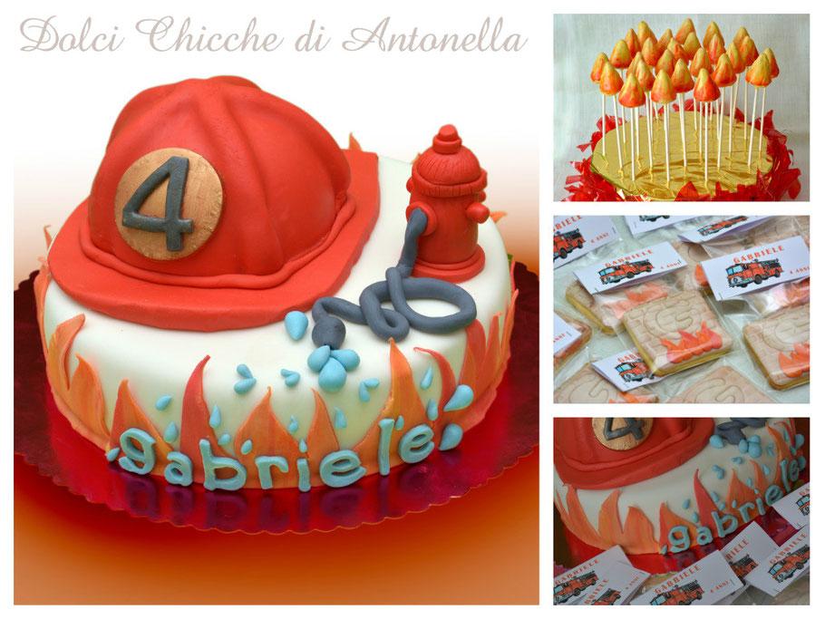 torta pompiere-la spezia-liguria-dolci-compleanno-feste-bimbi
