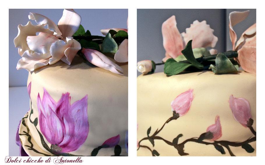 torta magnolie- dolci- la spezia- liguria- fiori -magnolia