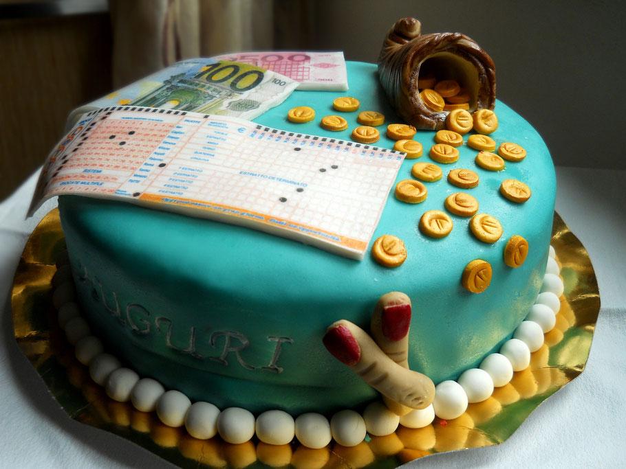 torta lottomatica-gioco-dolci-torte decorate-la spezia-liguria