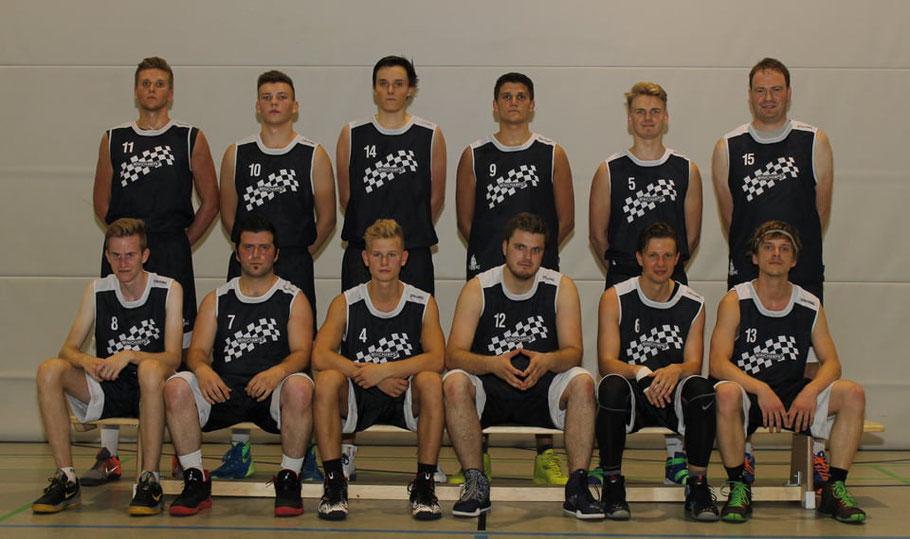 Mannschaftsfoto der Herren1 des Brander TV Aachen