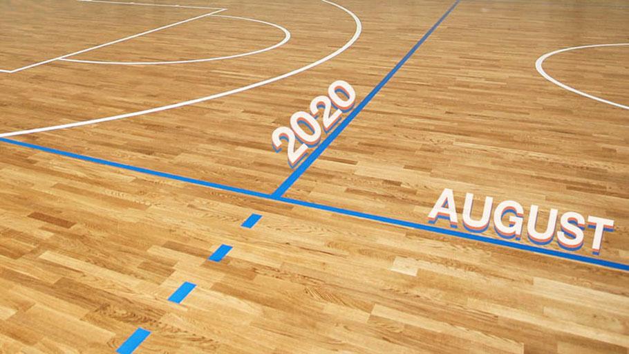 Grafik Saisonstart August 2020