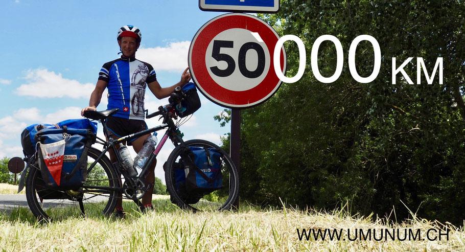50`000km unterwegs!