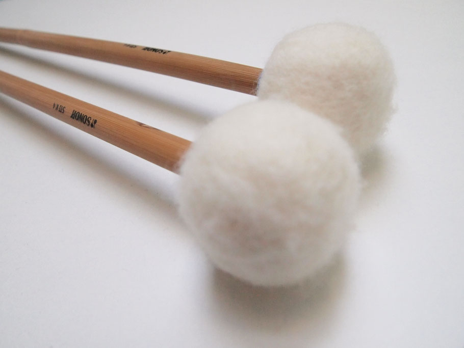 Sonor timpani felt mallet available at www.paukenschlaegel.com