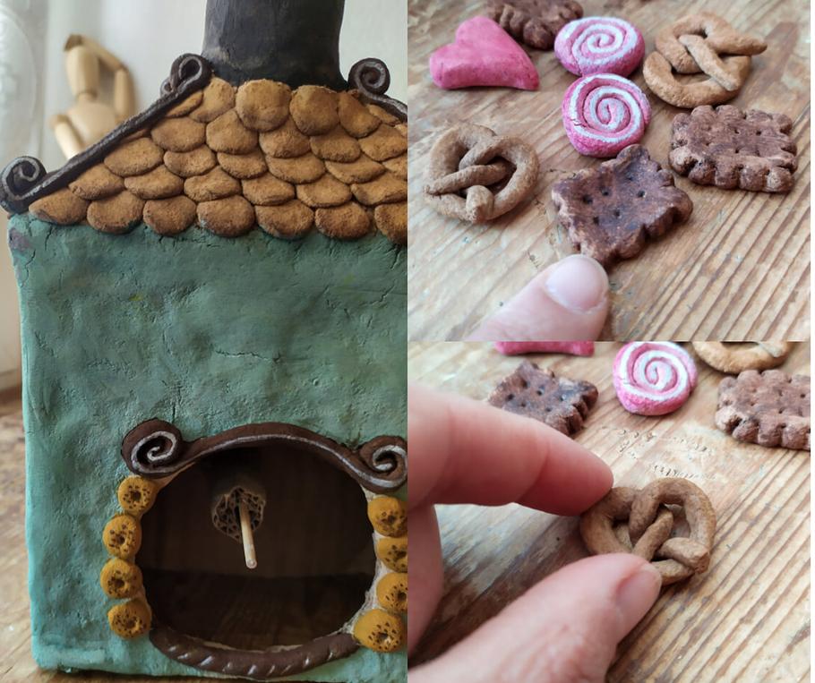 Il work in progress della mia bambola scultura dedicata alla fiaba di Hensel e Gretel, seguitmi se volete vederla finita!
