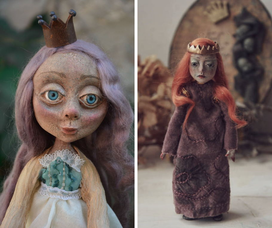 Last works in paper clay