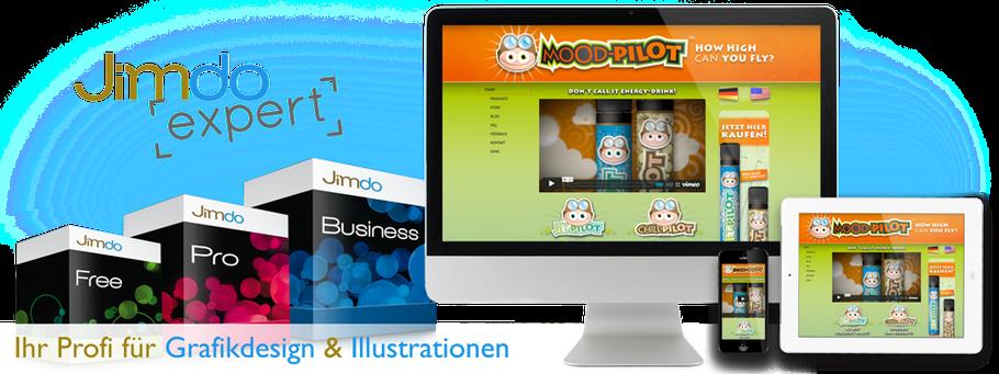 Als Jimdo Expert Partner für Grafikdesign und Illustration in Bremen sind wir Ihr Ansprechpartner für die visuelle Gestaltung Ihrer Inhalte.
