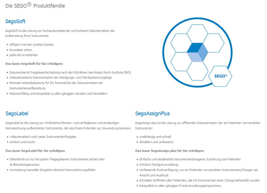 Wimmer Sterilisationstechnik verwendet SegoSoft, SegoLabel, SegoAssign plus - Software von comcotec