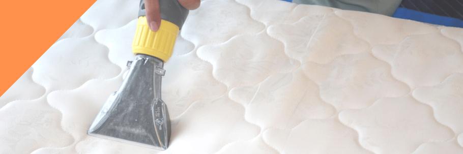 ベッドマットレスクリーニング:布製品専用リンサーで水洗い洗浄
