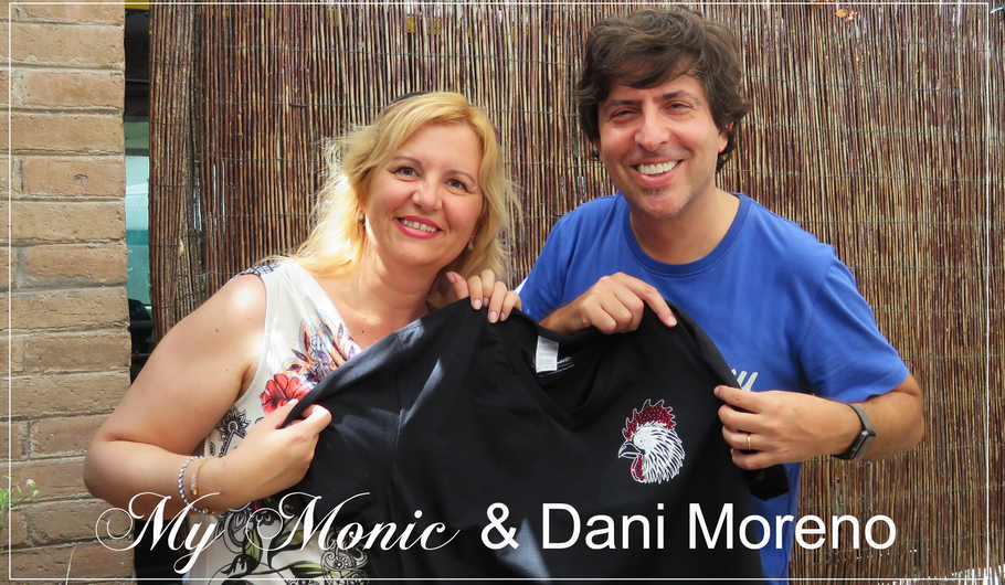 #mymonic #mymonic.com #danimoreno #SiempreGallo #Luxury #SwarovskiCrystals #Exclusive #Brand #Barcelona #MadeinBarcelona #camisetasconswarovski #made in spain