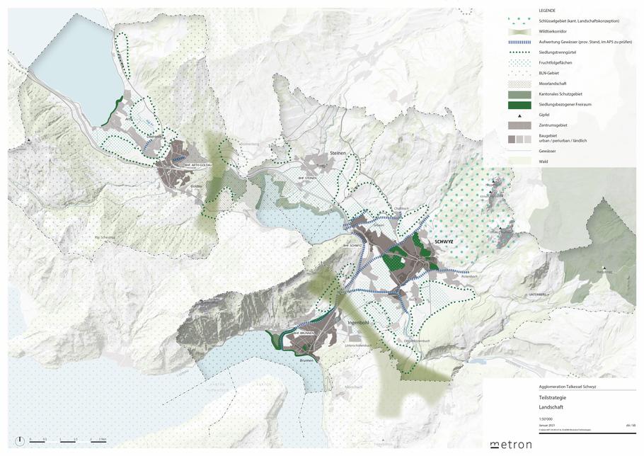 Teilstrategie Landschaft (Bild per Klick vergrösserbar)