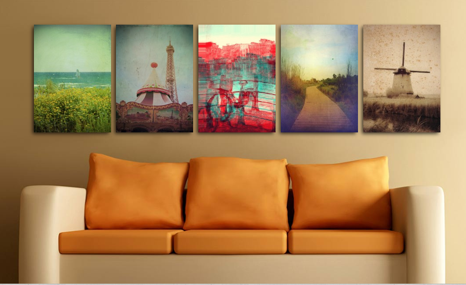 Artistic photographs, textured and hand painted, vintage landscapes, flowers and more by Victoria Herrera Photography