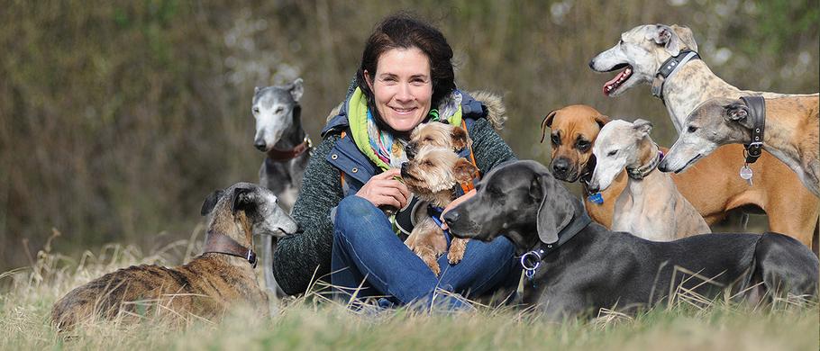 »Alle meine Hunde – jeder einzelne ein Freund.«