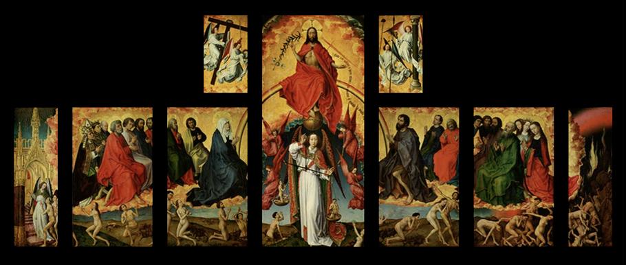 1442–52 VAN DER WEYDEN Musée de l'Hôtel-Dieu, Beaune