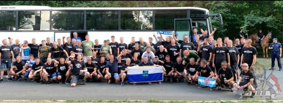 Kohorta Osijek Sofia Bulgaria Ultras