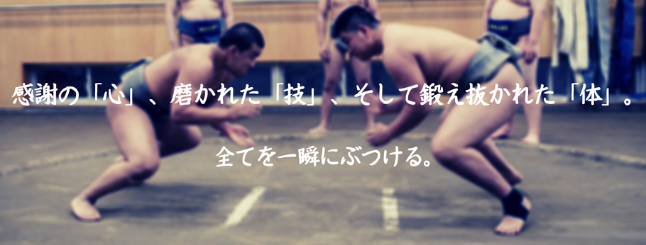 【写真】相撲部スローガン
