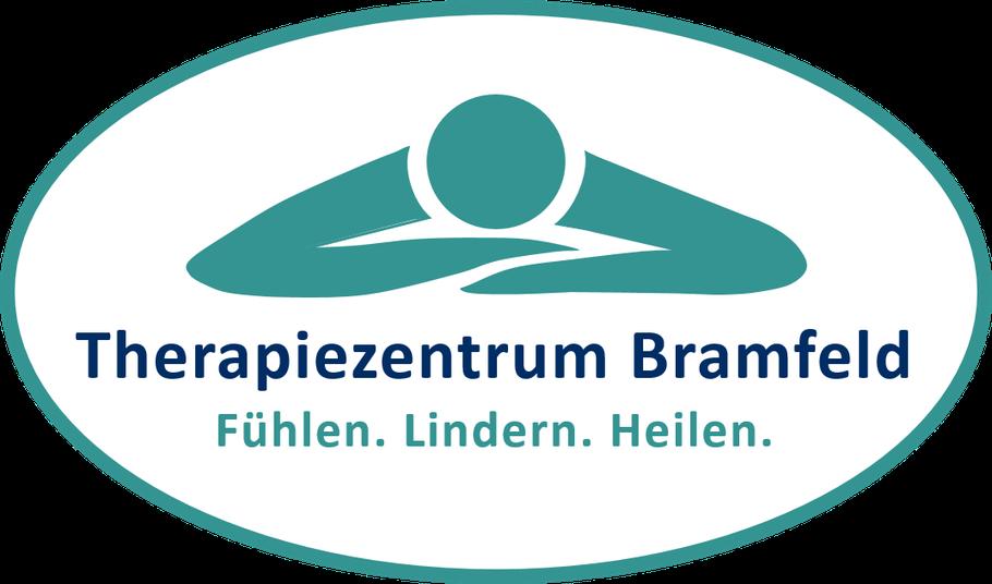 Logo Therapiezentrum Bramfeld - Praxis für Physiotherapie, Krankengymnastik und Wellness - Fühlen. Lindern. Heilen. Inhaber Felix Brand, Physiotherapeut