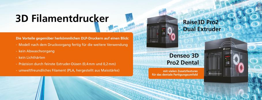 Der neue Denseo 3D Filmend Drucker