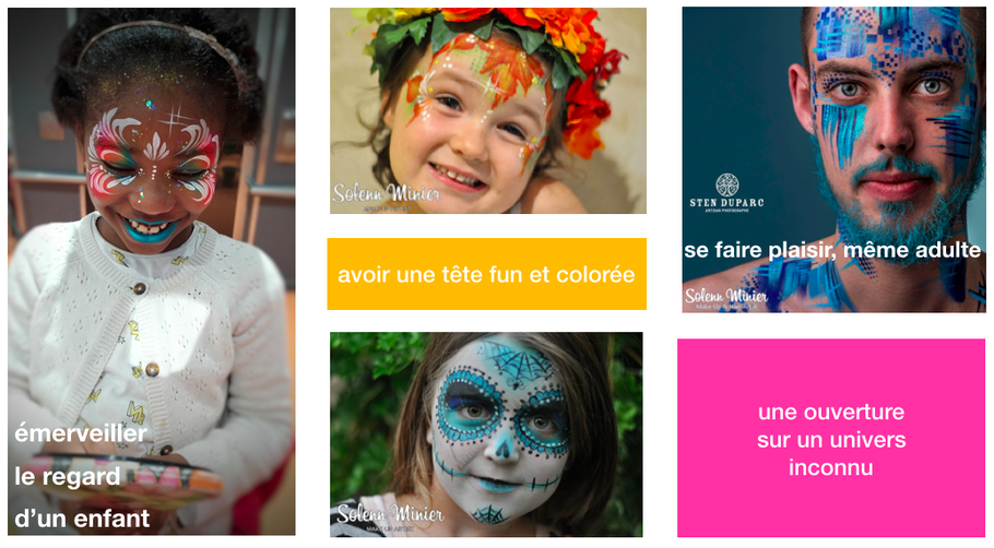 face painting solenn minier rennes animation enfant adulte animation commerciale culturelle festival concert