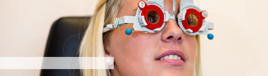 Einstärken- und Gleitsichtbrille