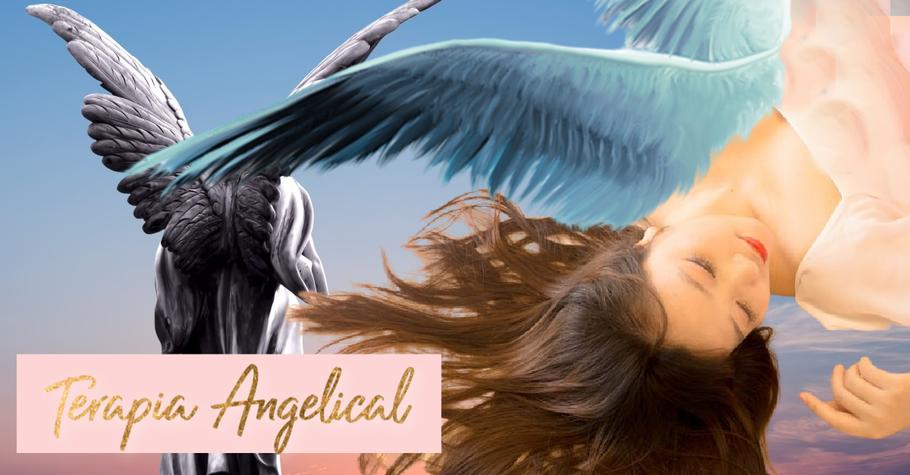 terapia angelica, angeloterapia,sanacion angelical