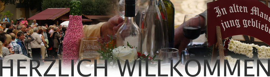 Die Weinfeste an der Ahr sind das Anziehungsmagnet der Region.