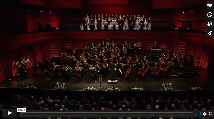Konzert des Isländischen Sinfonieorchesters zum Unabhängigkeitstag. Video: Youtube