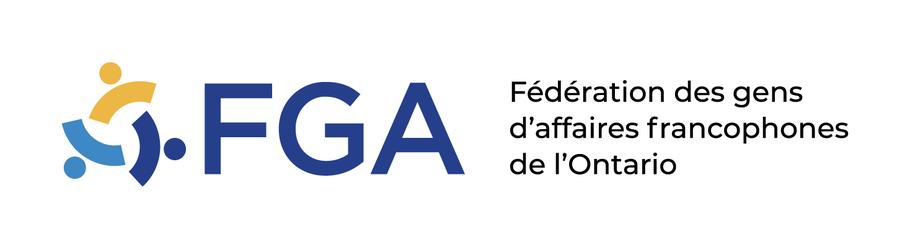 Logo FGA Fédération des gens d'affaires francophones de l'Ontario