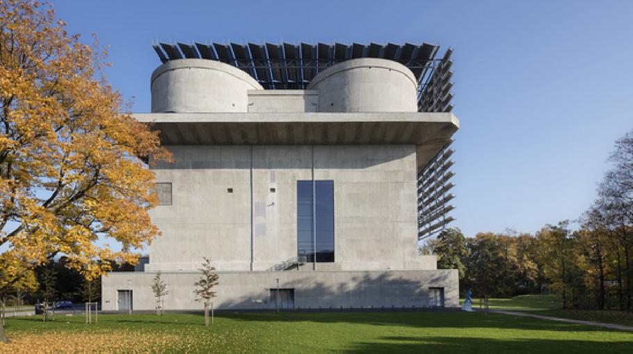 Dient als regeneratives Kraftwerk: der Energiebunker (Foto: Hamburgenergei)