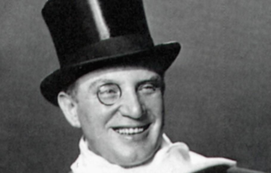 Der österreichische Tenor Richard Tauber (1891 - 1948) steht im Mittelpunkt eines Abend des Kultur-Vereins (Foto: Getty-Images/Kultur-Verein)